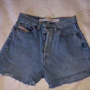 Dorsal high waisted shorts